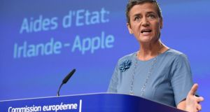 EU Competition Commissioner Margrethe Vestager: has she bitten off more than she can chew? Photograph: John Thys/AFP/Getty Images