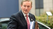 "Taoiseach Enda Kenny said an Irish Times report on the European Commission's examination of corporate tax files here was ""loose talk"". Photograph: Thierry Charlier/AFP/Getty Images"