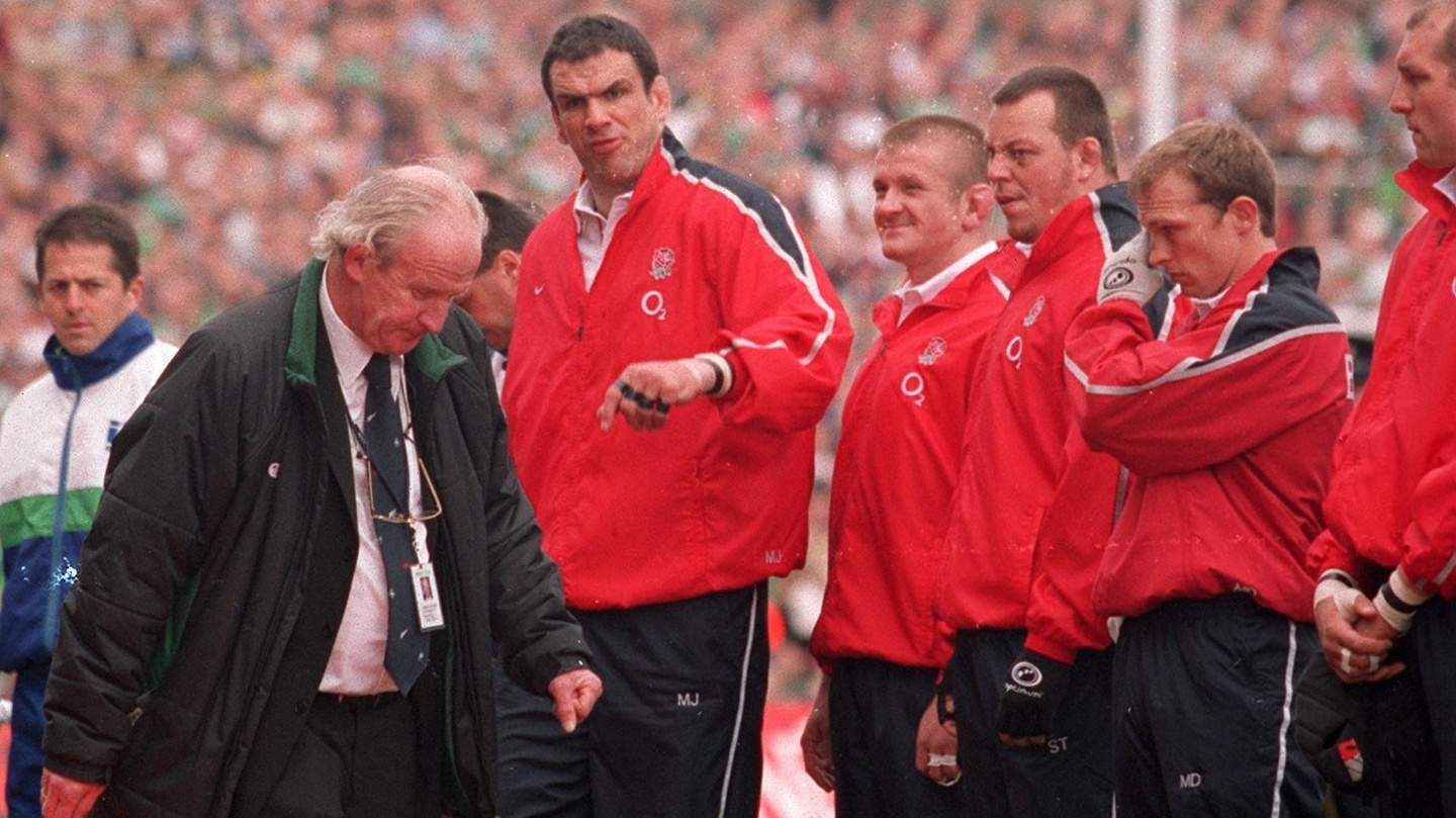 Clive Woodward Recalls Famous 2003 Battle Of Red Carpet