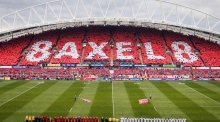 A packed Thomond Park pays tribute to Anthony Foley