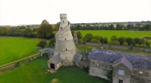 Drone footage captures Kildare's 'Wonderful Barn'