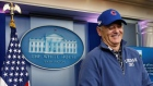 Mr President? Bill Murray crashes The White House briefing room
