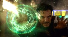 Cumberbatch as Dr Strange: expect $1 billion at the box office