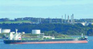 "Whitegate, Ireland's only oil refinery: a ""huge amount"" of indirect jobs are linked to the site"", Minister for the Environment Denis Naughten said"