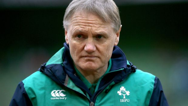 "Ireland coach Joe Schmidt: ""I'd like to thank the IRFU for their patience and confidence as the decision to continue took somewhat longer than I'd anticipated."" Photograph: Inpho"