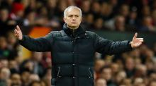 Jose Mourinho: the 4-0 defeat to Chelsea on Sunday should be his trigger to reshape the team in his image before it is too late.  Photograph: Reuters