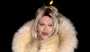 Pete Burns: scabrous and outspoken. Photograph:  Yui Mok/PA Wire