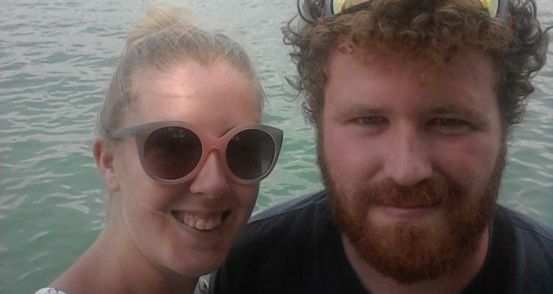 "Helen Vickers and Cathal Mahon are happy living in Turkey: ""We love our life here. The people are friendly, helpful and respectful,"" says Cathal."