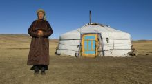 Rolling  sheep's ankle bones for sport – my night with Mongolian nomads