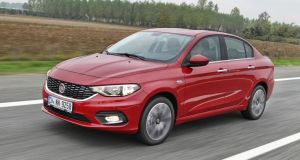Fiat Tipo saloon: confirmed for introduction  in Ireland in right-hand drive