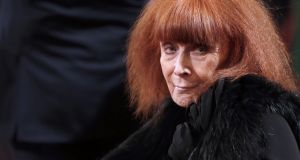 Fashion designer Sonia Rykiel, who died in August. Photograph: Getty Images