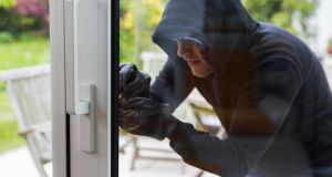 In 29 per of cases criminals broke in through the front door. They also gained access via back doors in 29 per cent of cases, back windows in 24 per cent and front windows in eight per cent of all break-ins. Photograph: iStock