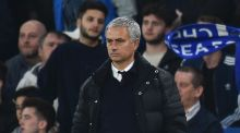 Manchester United manager José Mourinho has said his current life in the city is 'a bit of a disaster.' Photograph: Afp