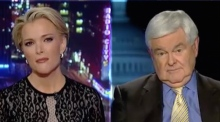 Newt Gingrich and Megyn Kelly clash on live TV over Trump coverage