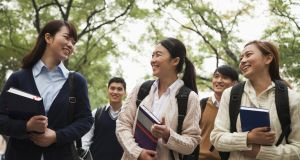 The number of Chinese studying in Ireland is on the rise – and their fees may be worth €500 million to the cash-strapped third-level sector. Photograph: iStock