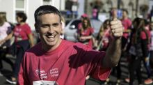 Damien English's fitness regime: running marathons and dodging biscuits