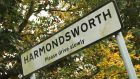 Come to no Harmondsworth: village is situated in west London right next to Heathrow and faces partial demolition following the UK government's decision to build a third runway. Photograph:  Eddie Keogh/Reuters