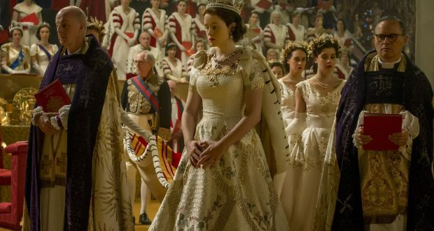 Claire Foy As The Newly Crowned Queen Elizabeth Ii In Netflix Series Crown