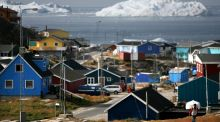The town of Ilulissat in Greenland: the Faroes secured an opt-out from what was then the EEC when Denmark joined in 1973 and Greenland followed by leaving in 1985. Photograph: Uriel Sinai/Getty
