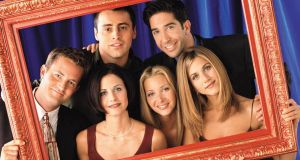 The cast of 'Friends': Aristotle says older people often pursue the friendship of usefulness, young people most frequently the friendship of pleasure. Photograph: Reuters