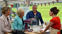 Candice named as winner of The Great British Bake Off