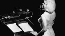 Dress worn by Marilyn Monroe to serenade JFK goes on display
