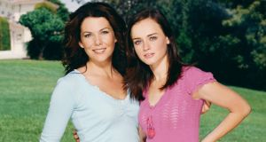 "Lauren Graham and Alexis Bledel  as mother and daughter Lorelai and Rory Gilmore: ""swimming in white privilege""."