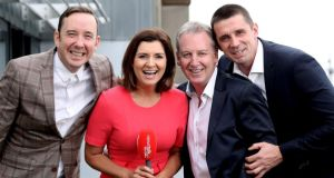 Newstalk  hosts: Shane Coleman, Colette Fitzpatrick, Paul Williams and  Alan Quinlan. Photograph:  Maxwell's
