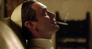 Scheming wildcard: Jude Law as Lenny Belardo, aka Pope Pius XIII, in The Young Pope