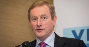 Taoiseach Enda Kenny: a number of Fine Gael TDs and Senators have urged him  to change the legislation. Photograph: Gareth Chaney Collins