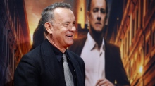 Still got it: Tom Hanks performs the rap from 'Big'