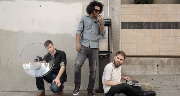 William Huston, Daveed Diggs and Jonathan Snipes of Clipping