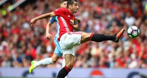 Henrikh Mkhitaryan has not played for Manchester United since being taken off at half-time in the English Premier League defeat to Manchester City on September 10th. Photograph: Clive Brunskill/Getty.
