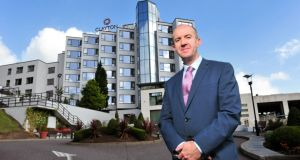 General manager Joe Kennedy outside the newly refurbished four-star Clayton Silver Springs hotel in Cork