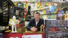 "Bookshop owner David Faughnan: during the recession, ""it all went belly-up, and in no time at all, almost overnight, we were the only business left on this street. It was terrible"""