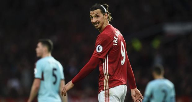625dc0e4fba Manchester United's Zlatan Ibrahimovic is enduring a barren spell in front  of goal. Photograph: