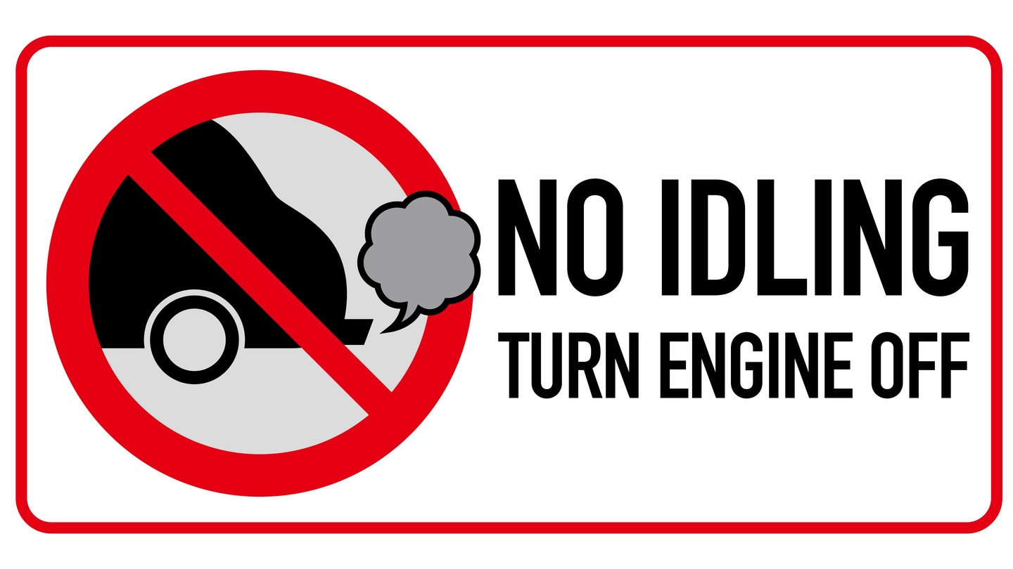 Stop idling: turn off your car engine at the school gates