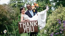 Our Wedding Story: celebrations in Ireland and India
