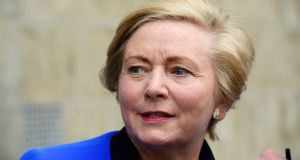 "Minister for Justice Frances Fitzgerald: says it is important to ensure the law ""offers effective protection against damaging comments which are defamatory and can cause such distress"". Photograph: Cyril Byrne/The Irish Times"