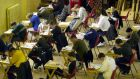 Student sitting the Leaving Cert exam: a new CAO points system aimed at easing the pressure is due to come into force next summer. Photograph: Eric Luke