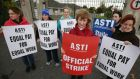 "In response to Opposition criticism Taoiseach Enda Kenny told the Dáil  ""the ASTI could deal with the issue today"". Photograph: The Irish Times"