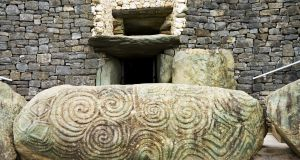Situated on the banks of the river Shannon at Hermitage, Castleconnell, the burial site, dating back to between 7,530 and 7,320 BC, is twice as old as Newgrange (above)