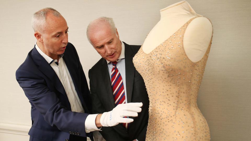 Irishman To Auction Marilyn Monroe S Happy Birthday Dress