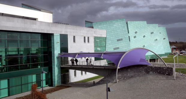 "The GMIT  campus in Galway: it  is one of the institutes identified as  ""vulnerable"" and facing an immediate sustainability challenge. Photograph: Brenda Fitzsimons/The Irish Times"