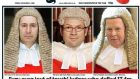 "The Daily Mail published photographs of the three judges involved in the high court hearing, accompanied by the banner headline ""Enemies of the people"". One leading commentator likened the tabloids to sterling: just as you think they can't sink any lower, they do."