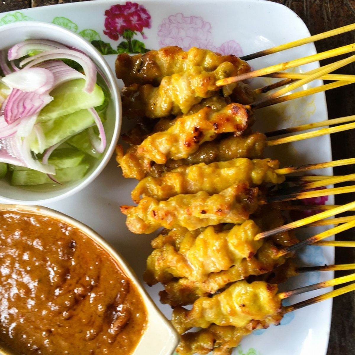 Anthony Bourdain S Chicken Satay With Fake Ass Spicy Peanut Sauce