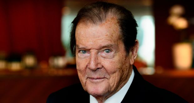 Image result for roger moore 2017