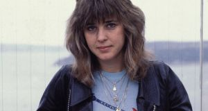 Singer Suzi Quatro, the tomboy poster girl of glam. Photograph: Patrick Riviere/Getty Images.