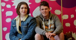 Leah McCabe, from Phibsborough and Steven Murphy from Finglas, Dublin.  Photograph: Alan Betson /The Irish Times