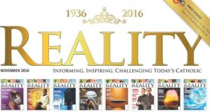 The 80th anniversary edition of Reality magazine.